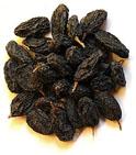 Кишмишные виды получают из белых или черных сортов винограда