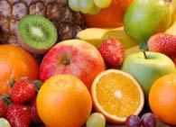 Содержание витаминов в фруктах