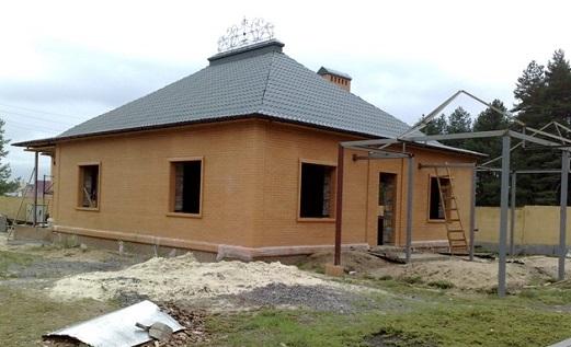 Как построить одноэтажный дом из кирпича