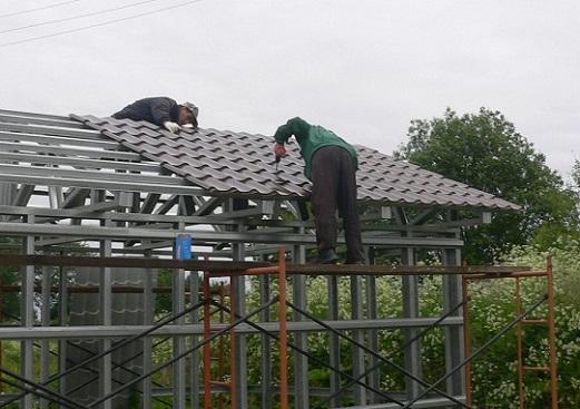 Как построить крышу дома своими руками01