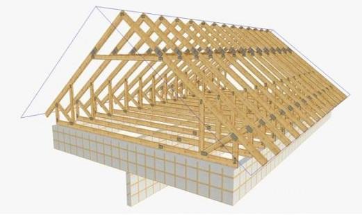 Как построить крышу дома своими руками1