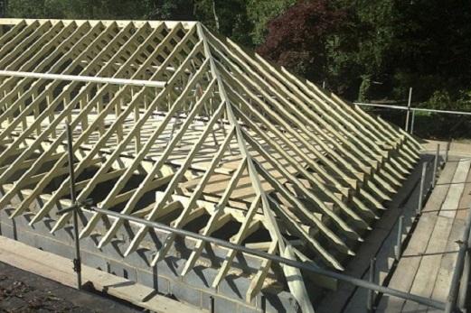 Как построить крышу дома своими руками2