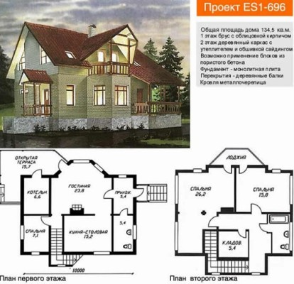 Проект дома строим своими руками