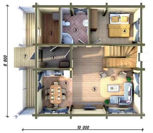 Виртуальный проект дома