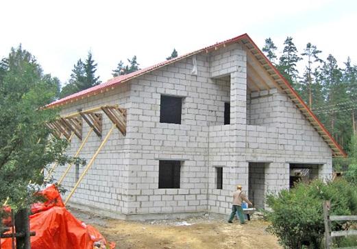 Как построить дом недорого из газобетон