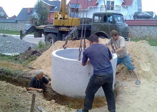 Строительство канализации в частном доме