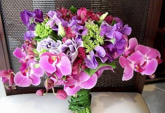 Особенности выбора цветов для букета