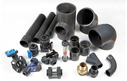 Элементы соединения труб канализации
