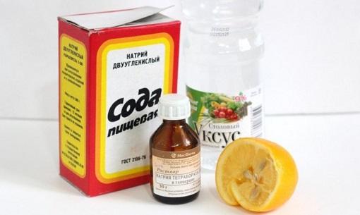 Сода и уксус для очистки канализации
