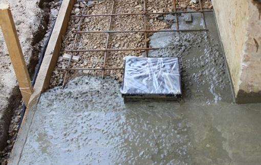 Как бетонировать двор своими руками