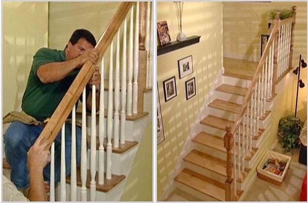 Сборка лестниц своими руками 23