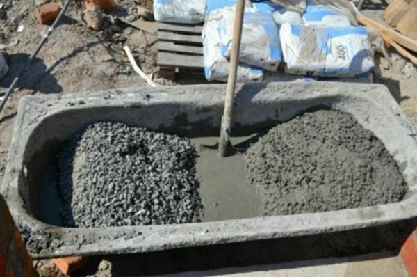 Как сделать хороший цементный раствор для фундамента