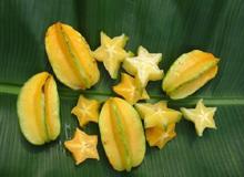 Карамбола- хрустящий, кисло-сладкий фрукт