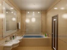 Подобрав стиль, и выбрав мебель для дизайна интерьера ванной, необходимо её правильно размести