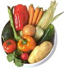 Содержание минеральных веществ в овощах небольшое