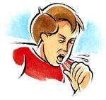 Отвар молока с инжиром рекомендуется давать детям при сильном кашле