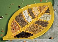 перед посевом обрабатывают семена марганцовкой