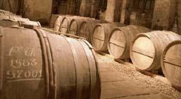Выдержка-это хранение коньячных спиртов в дубовых бочках