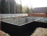 Наружная гидроизоляция фундамента