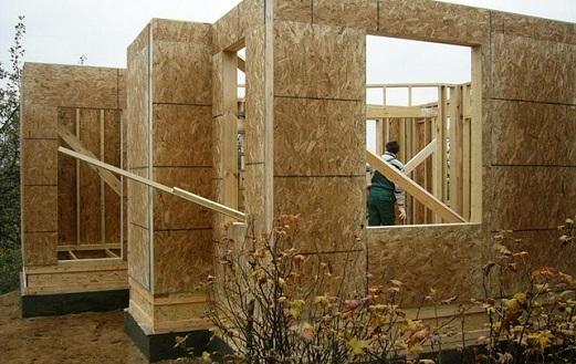 Технология строительства каркасно щитового дома