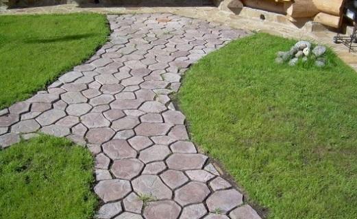 Как сделать тротуарную плитку дома