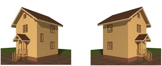 Как построить дом на маленьком участке?