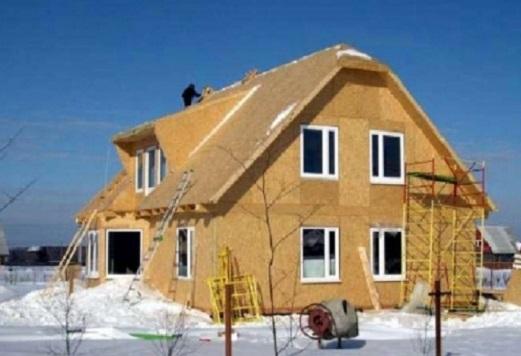 Как построить дом из сэндвич - панелей?