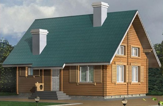 Как построить недорогой дом из бруса?