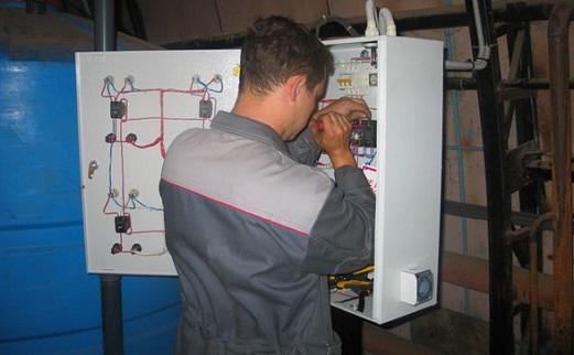 Принцип проведения электромонтажных работ