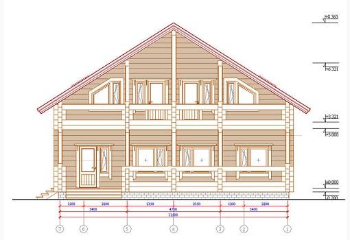 Проект строительства деревянного дома