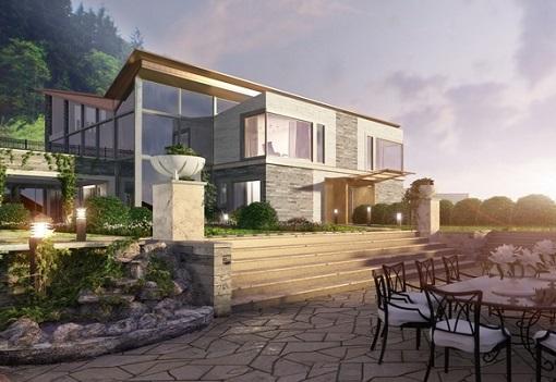 Как построить дом на склоне?