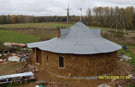Как построить круглый дом?