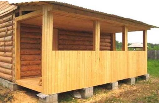 Как построить пристройку к деревянному дому?