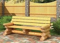 Какую скамейку выбрать для дачного участка