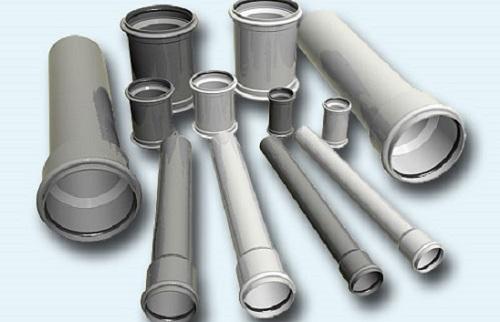 Пластиковые внутренние трубы канализации