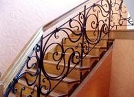 Особенности кованных лестниц