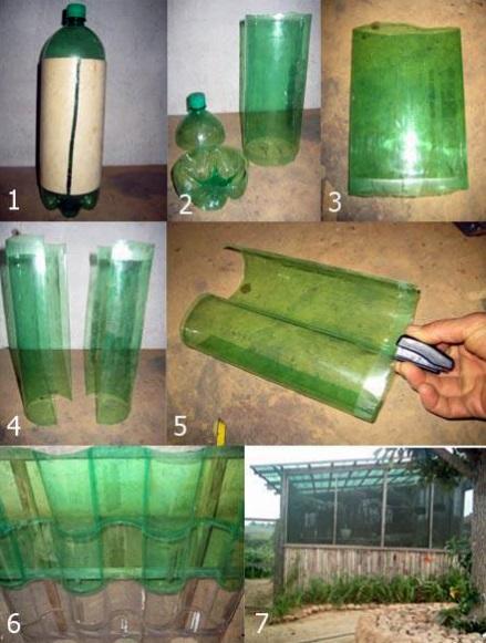 Как сделать забор из бутылок своими руками?