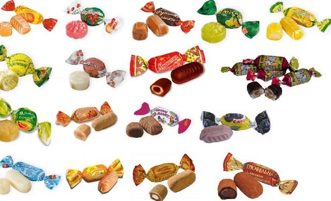 Топ 10 самых вкусных конфет в мире