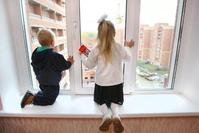 Безопасные окна детям