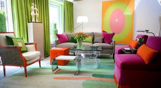 Цветовое решение мебели