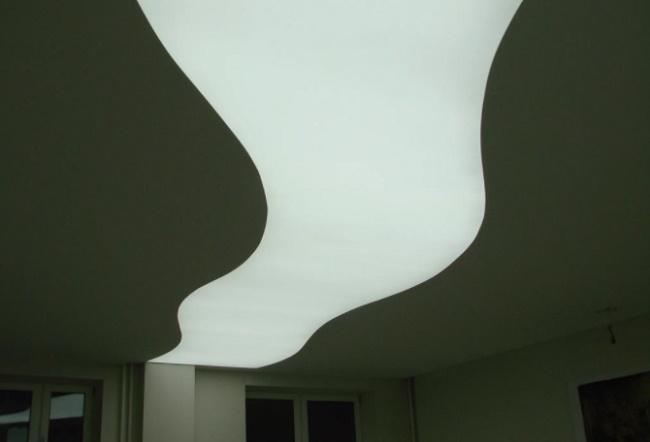 Какие виды натяжных потолков существуют?