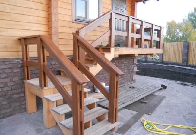 Типы входных лестниц