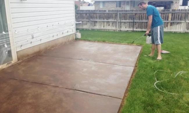 Краска для бетона для наружных работ