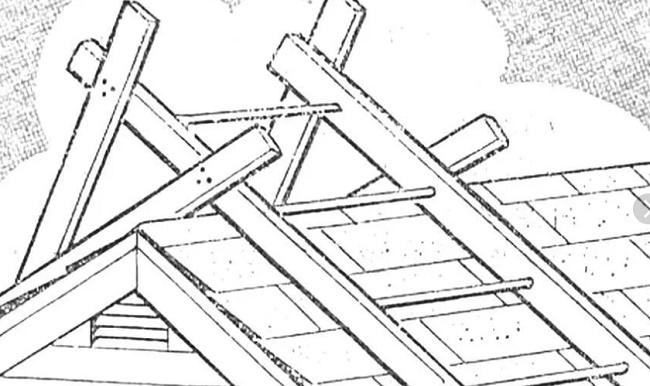 Кровельная лестница для работы на крыше дома своими руками