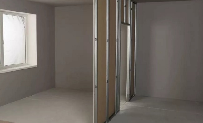 Перегородки между комнатами