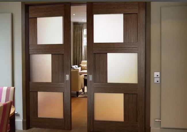 Двухстворчатые распашные и раздвижные межкомнатные двери