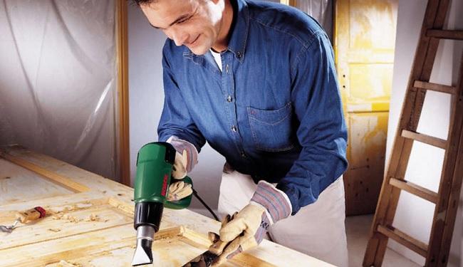 Как обновить покрытую лаком дверь: как очистить, отмыть двери