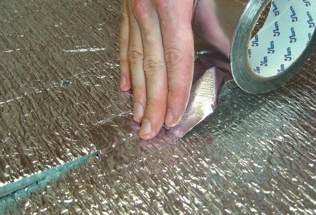 Утепление деревянного пола пенофолом снизу