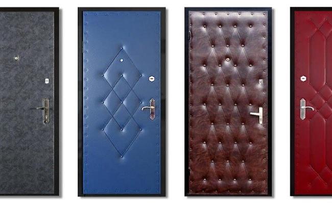 Материалы для обивки дверей: что такое портальные двери