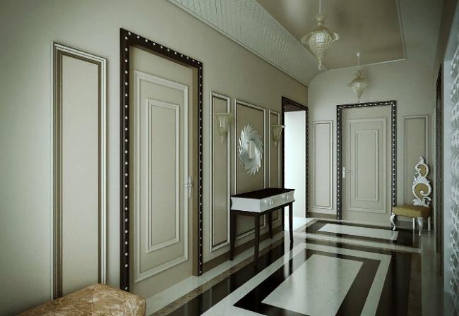 Межкомнатная дверь в стиле арт-деко